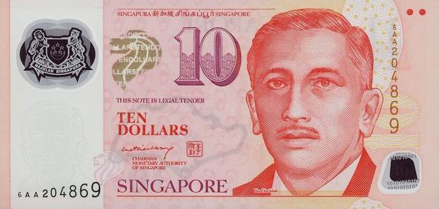 Сингапурский доллар в рублях
