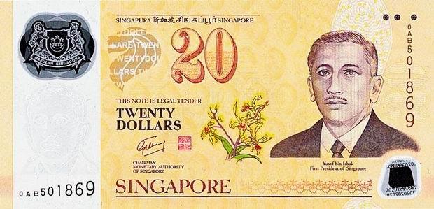 Сингапурский доллар к американскому доллару