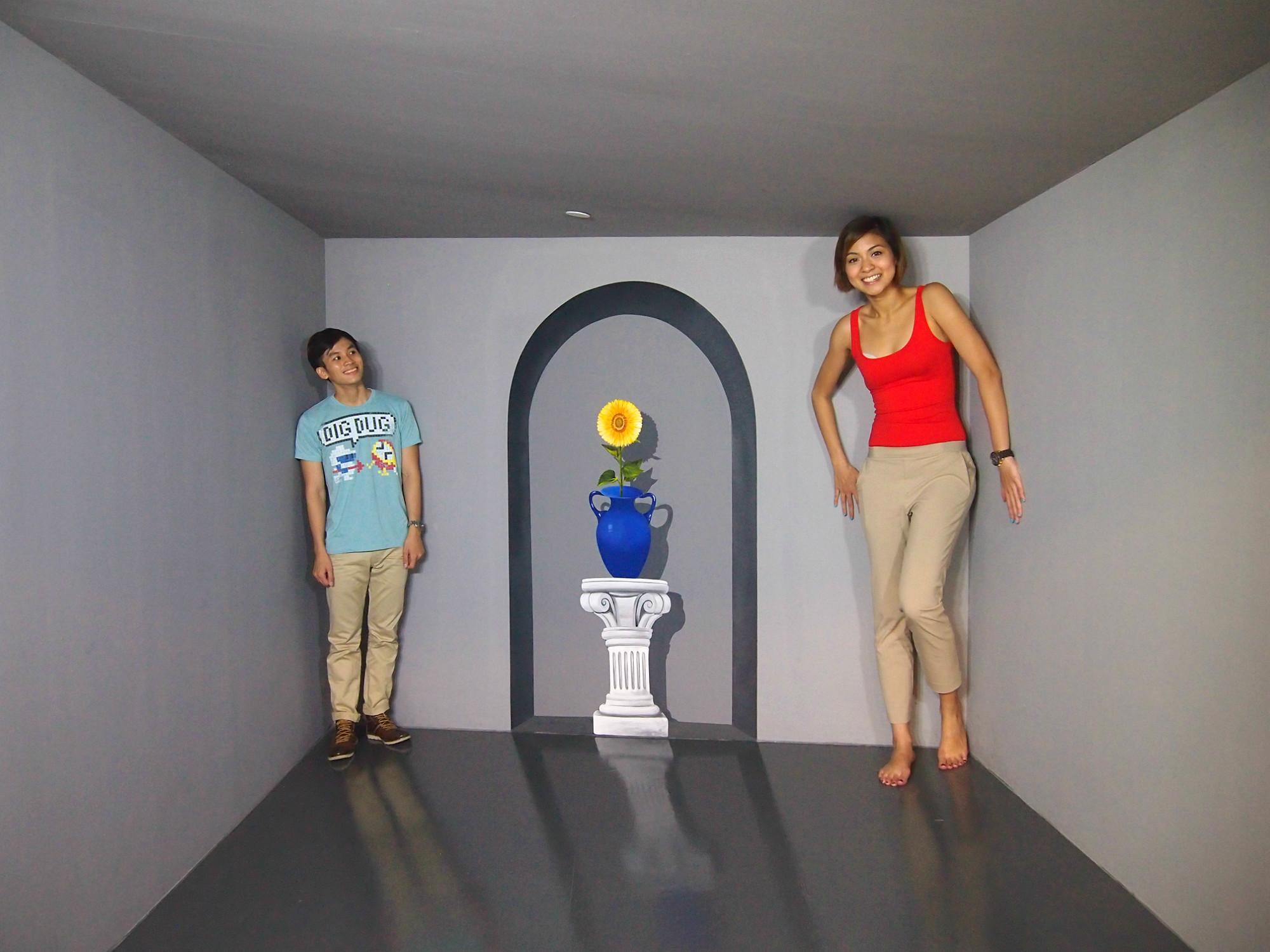 Музей Оптических Иллюзий на острове Сентоза