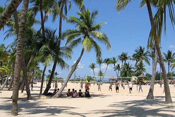 Фото пляжа Силосо на острове Сентоза