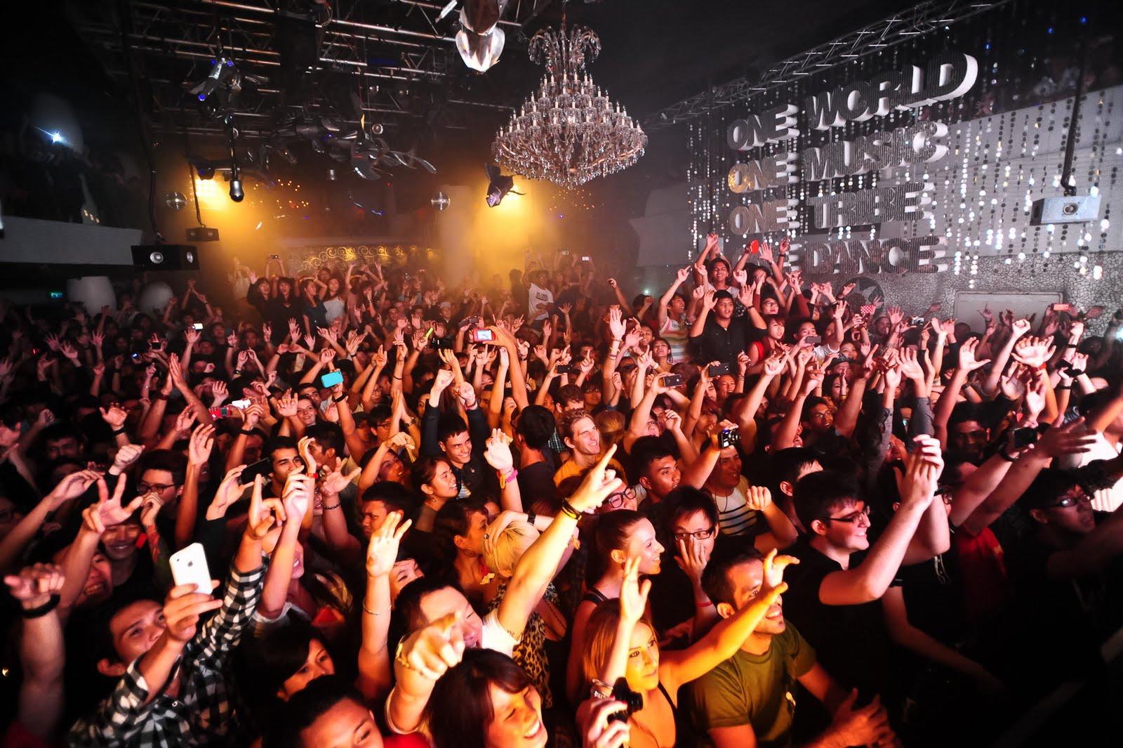 Фото ночного клуба Зоук в Сингапуре