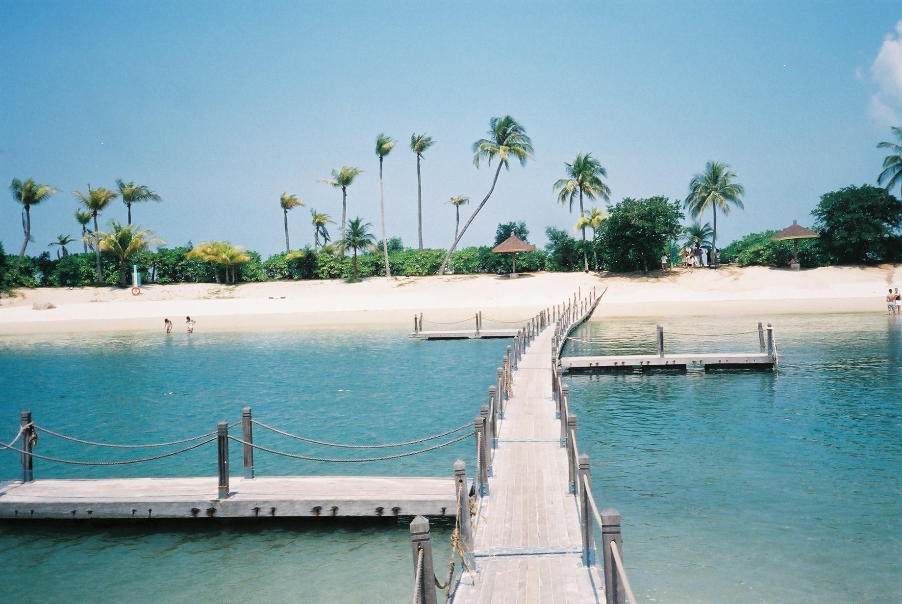 Фото пляжей Сингапура