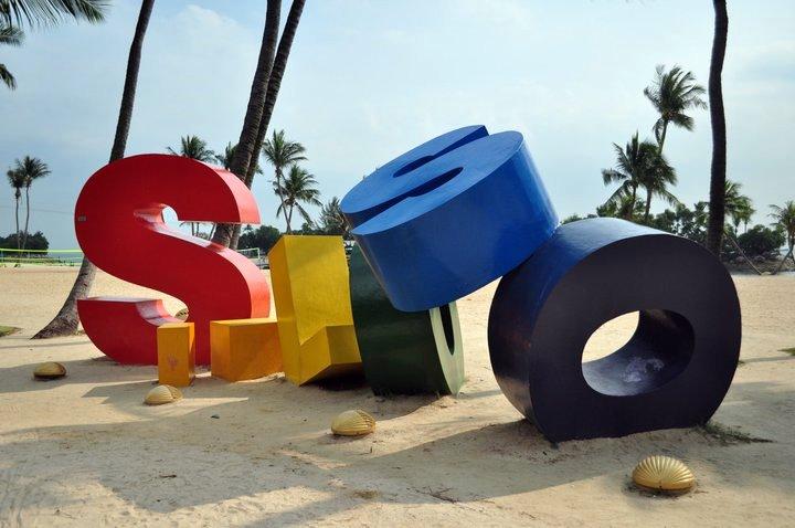 Фото пляжа Силосо в Сингапуре (остров Сентоза)