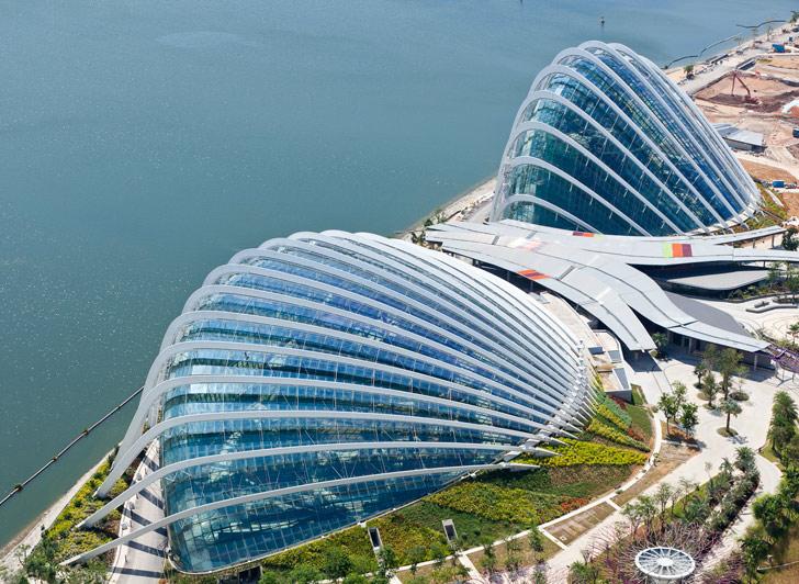 Фото садов Сингапура