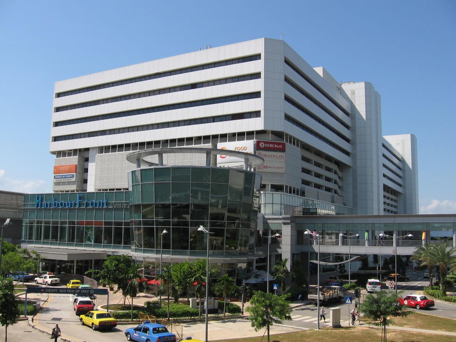 Паромный терминал Харборфронт в Сингапуре (Harbourfront Ferry Terminal)