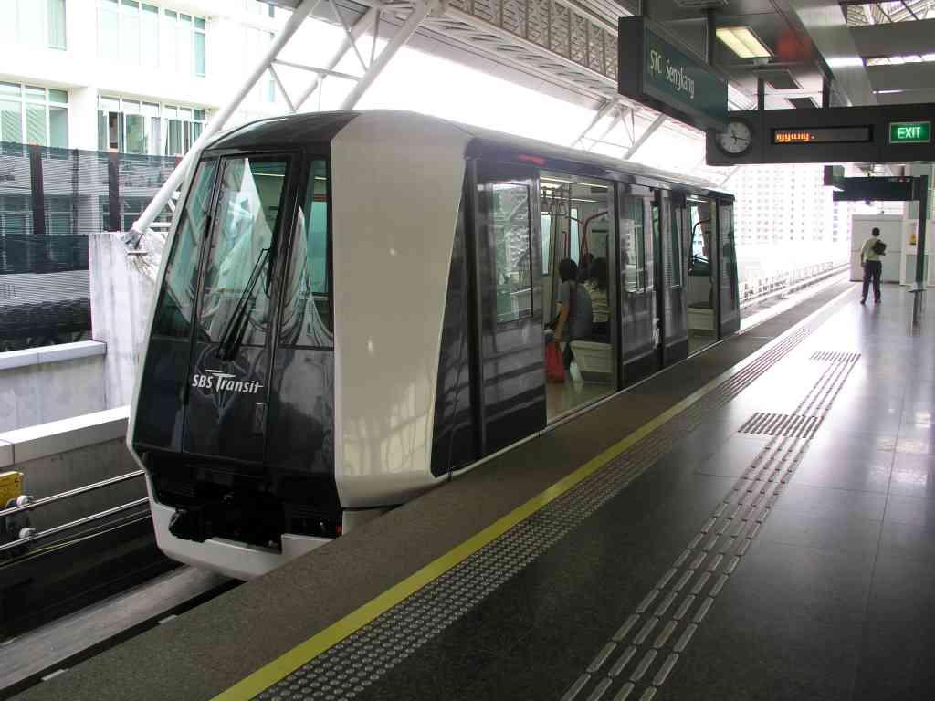 LRT Singapore - Легкое метро Сингапура