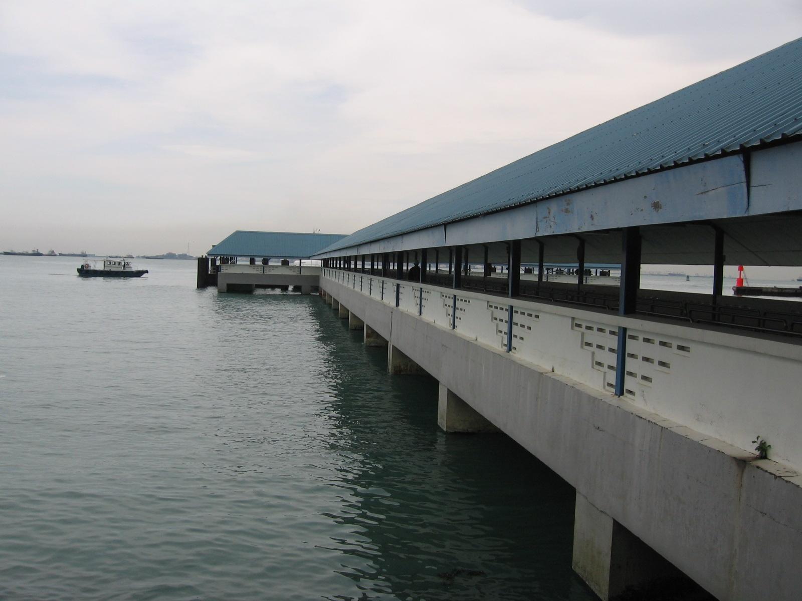 Паромный Терминал Пасир Панджанг в Сингапуре (Pasir Panjang Ferry Terminal)