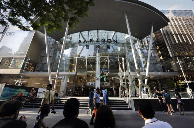 Paragon Shopping Mall Singapore (Парагон Шоппинг Молл Сингапур)