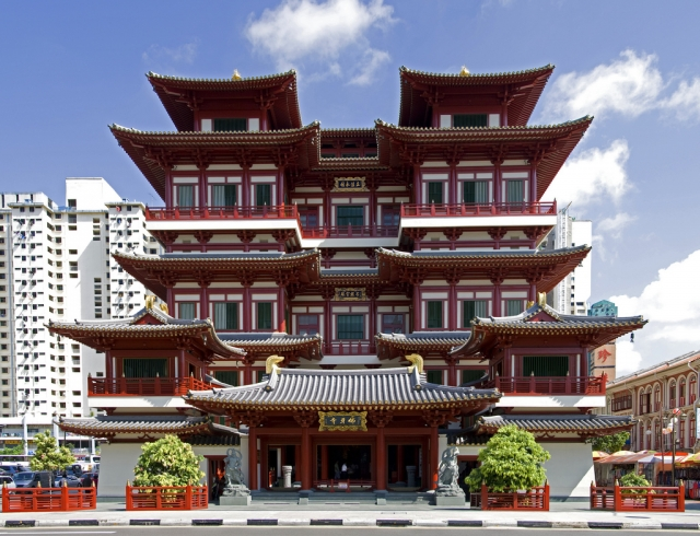 Храм Зуба Будды (Buddha Tooth Relic Temple)