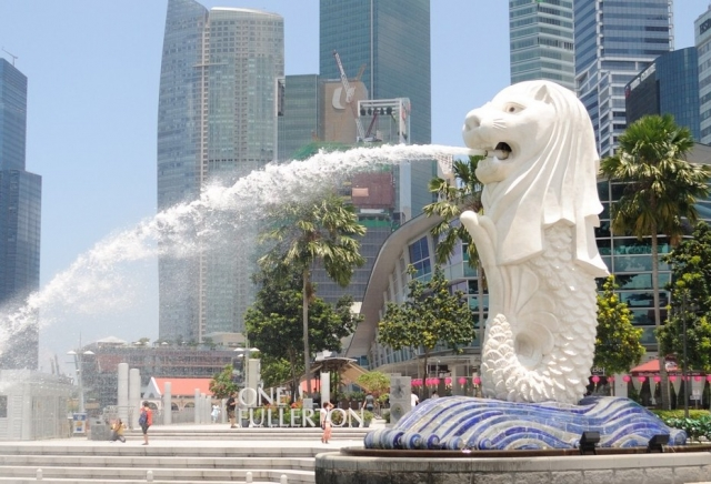 Статуя Мерлиона (The Merlion)